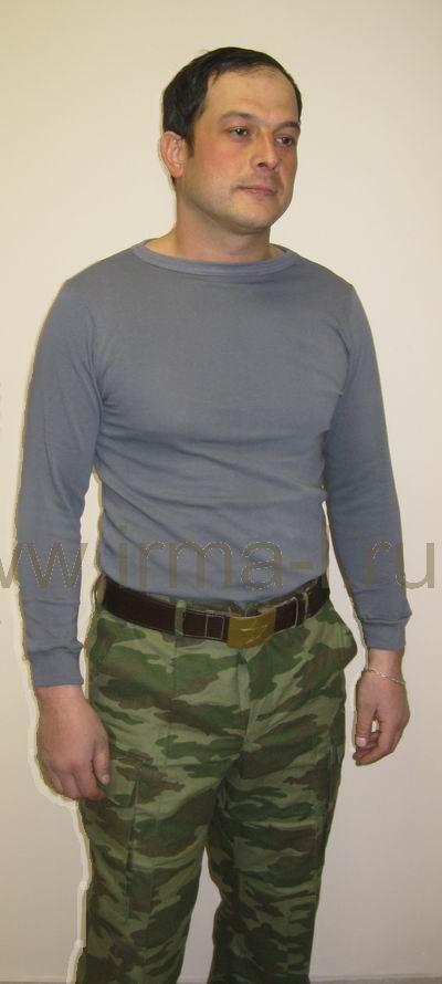 Нательное офицерское белье хлобчатобумажное